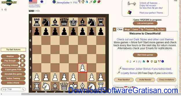 Game Catur Online Terbaik Chessworld.net