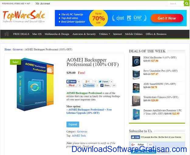 Situs software giveaway Terbaik TopWareSale