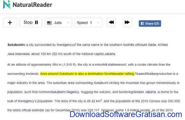 aplikasi pengubah teks menjadi suara untuk pc NaturalReader