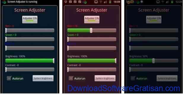 Aplikasi Pengatur Warna Layar Gratis Terbaik untuk Android Screen Adjuster Free