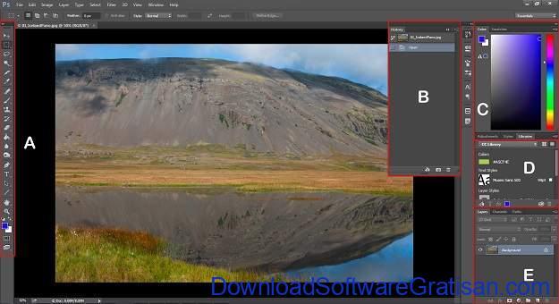 Adobe Photoshop CC Review - Menu