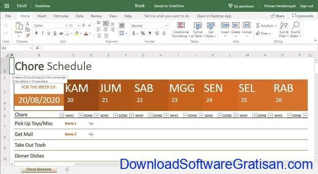 Alternatif Excel Terbaik - Microsoft Office Online