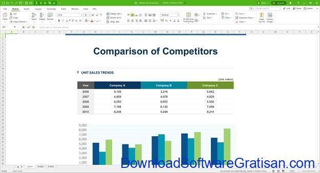 Alternatif Excel Terbaik - Polaris Office