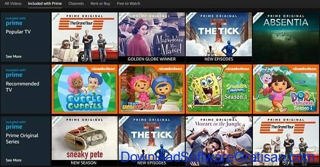 Alternatif Netflix untuk Streaming Film & Acara TV Online Amazon Prime Video