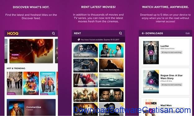 Alternatif Netflix untuk Streaming Film & Acara TV Online Hooq