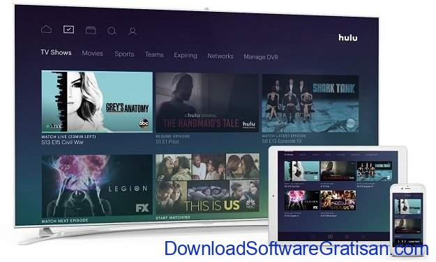 Alternatif Netflix untuk Streaming Film & Acara TV Online Hulu Plus