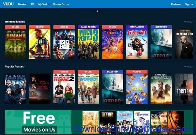 Alternatif Netflix untuk Streaming Film & Acara TV Online Vudu