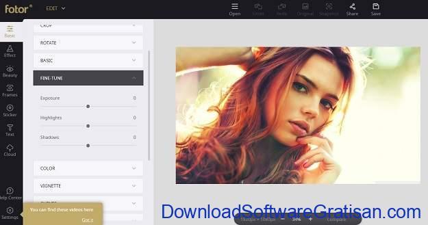 Alternatif Photoshop Gratis Terbaik untuk Mac Fotor