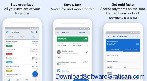 Aplikasi Akuntansi Android Terbaik Invoice by Wave