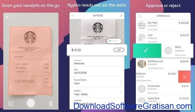 Aplikasi Akuntansi Android Terbaik Rydoo