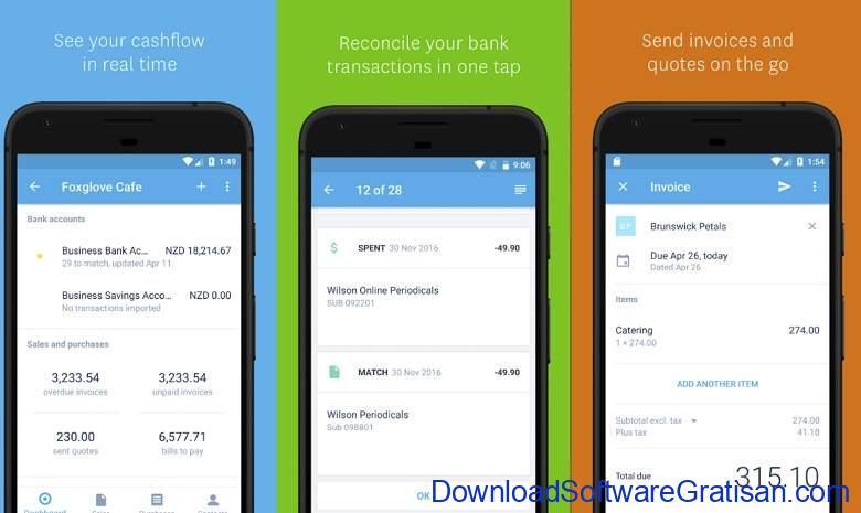 Aplikasi Akuntansi Android Terbaik Xero