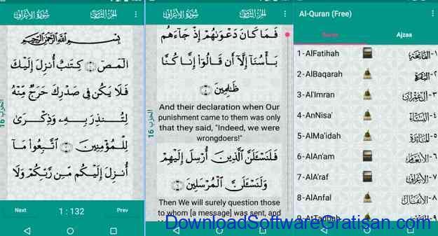 Aplikasi Al-Qur'an Gratis Terbaik untuk Android Al-Quran (Free)