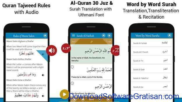 Aplikasi Al-Qur'an Gratis Terbaik untuk Android Al Quran MP3 - Quran Reading