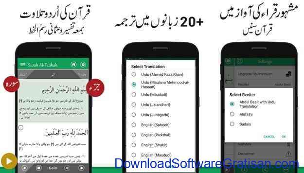Aplikasi Al-Qur'an Gratis Terbaik untuk Android Quran with Urdu Translation