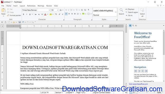 Aplikasi Alternatif Gratis Microsoft Word Gratis Terbaik SoftMaker FreeOffice
