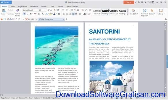 Aplikasi Alternatif Gratis Microsoft Word Gratis Terbaik WPS Office Free