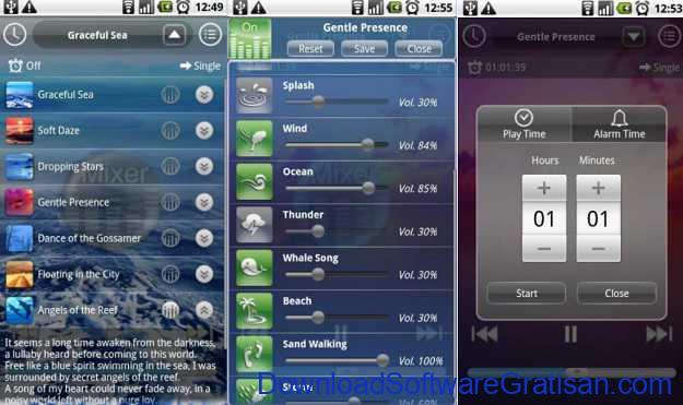 Aplikasi Android untuk Membantu Tidur Nyenyak Music Therapy for Sound Sleep