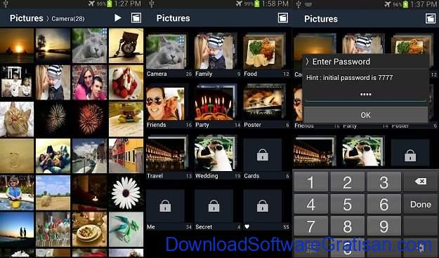 Aplikasi Android untuk Menyembunyikan Foto dan Video Secure Gallery