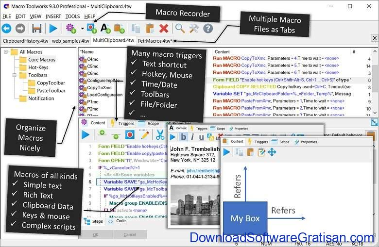 Aplikasi Auto Clicker Mouse PC Laptop Terbaik Macro Toolworks