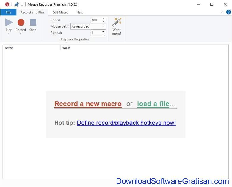 Aplikasi Auto Clicker Mouse PC Laptop Terbaik Mouse Recorder Premium