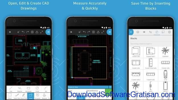 Aplikasi Autocad Android AutoCAD