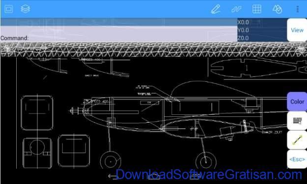 Aplikasi Autocad Android AutoQ3D CAD