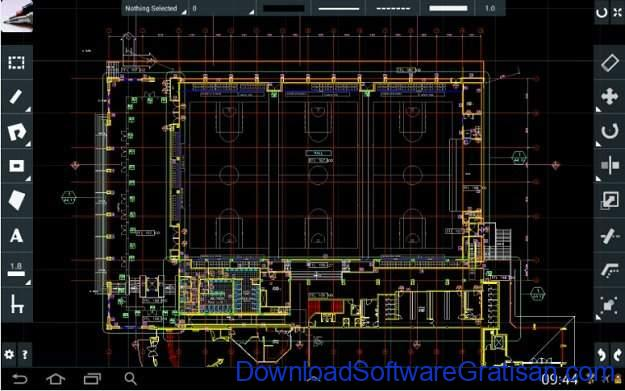 Aplikasi Autocad Android CAD Touch