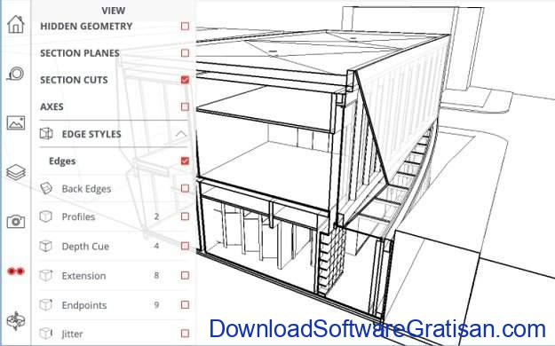 Aplikasi Autocad Android SketchUp Viewer