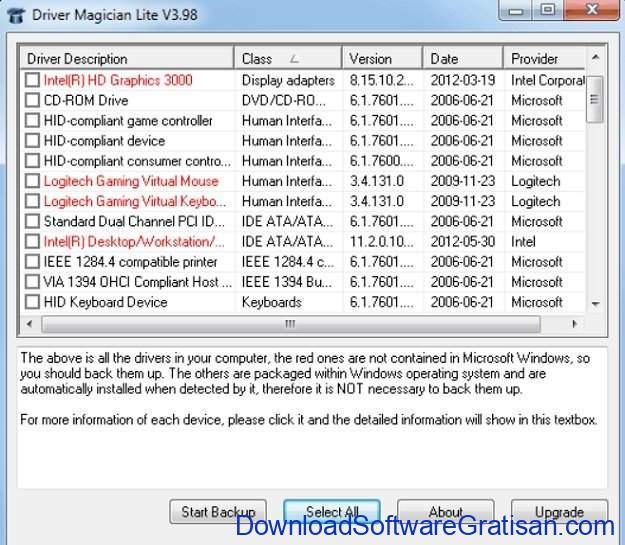 Aplikasi Backup Driver Gratis untuk Windows 10 Driver Magician Lite
