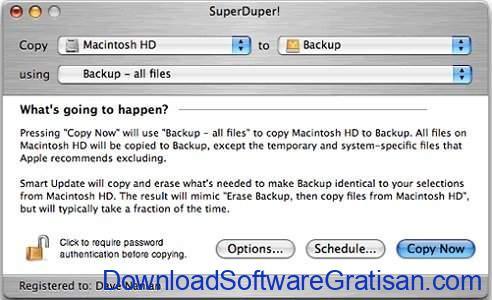 Aplikasi Backup Gratis Terbaik untuk Mac SuperDuper