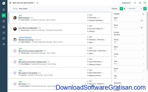 Aplikasi Bantuan Teknik (Help Desk) Gratis & Open Source Freshdesk