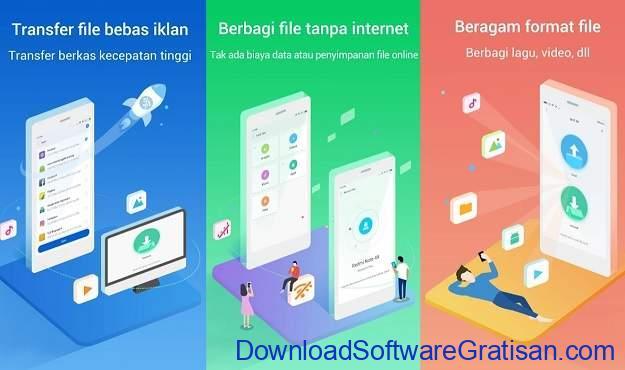 Aplikasi Berbagi File Terbaik untuk Android Mi Drop