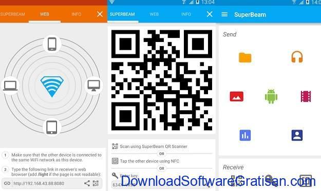 Aplikasi Berbagi File Terbaik untuk Android SuperBeam