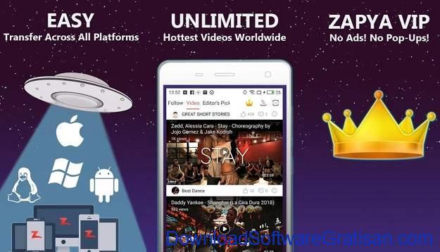 Aplikasi Berbagi File Terbaik untuk Android Zapya