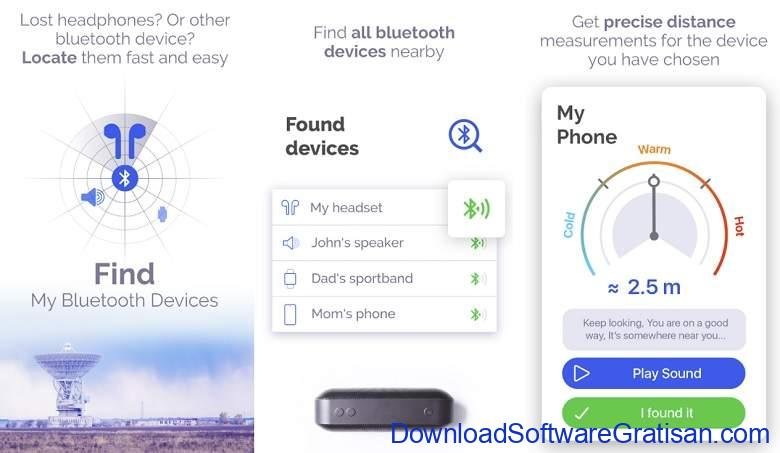 Aplikasi Bluetooth Android Gratis Terbaik Find My Bluetooth Device