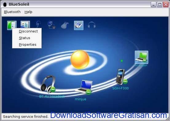 Aplikasi Bluetooth Gratis Terbaik PC - BlueSoleil