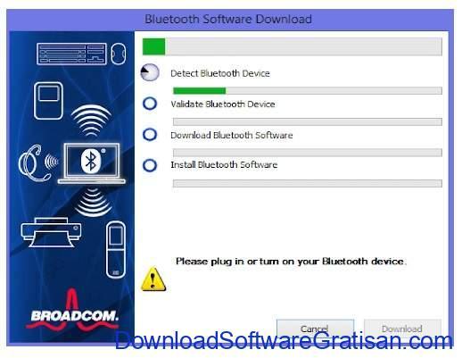 Aplikasi Bluetooth Gratis Terbaik PC - WIDCOMM Bluetooth Software