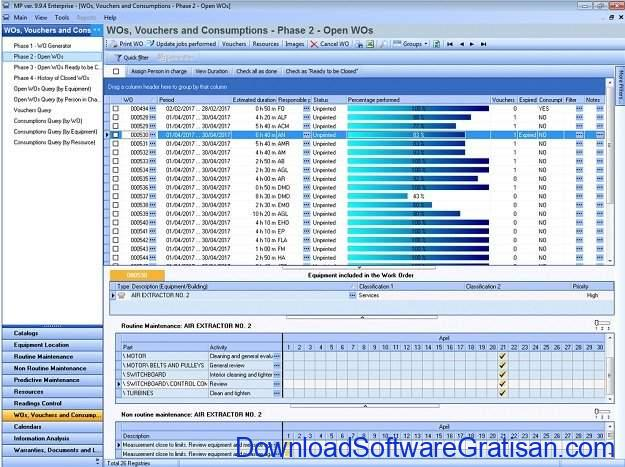 Aplikasi CMMS Gratis MP Software CMMS