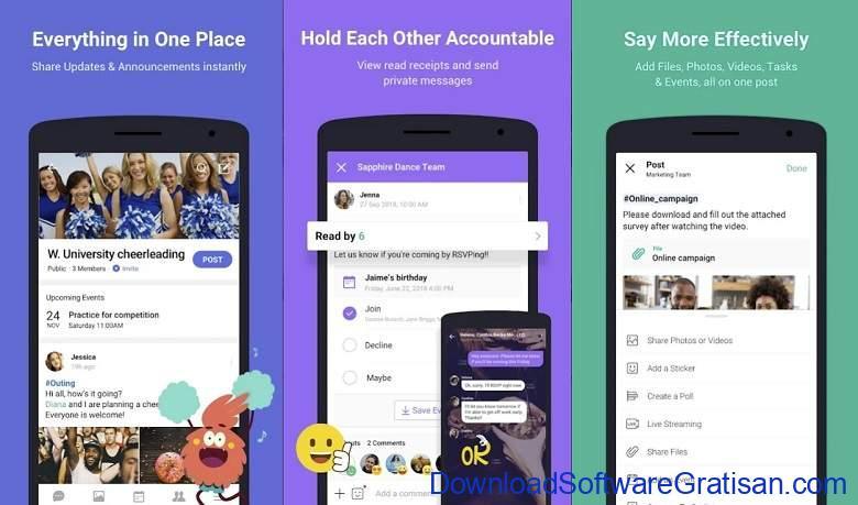 Aplikasi Chat Room Android Gratis Terbaik - Band