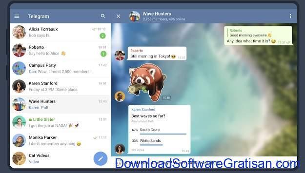 Aplikasi Chat Room Terbaik untuk Android - Telegram