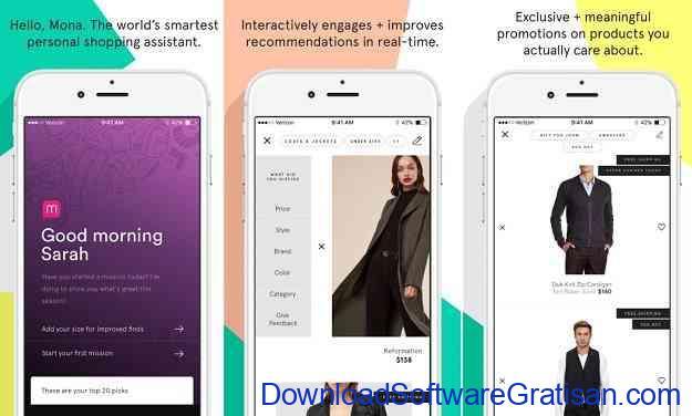 Aplikasi Chatbots dengan AI Terbaik MONA