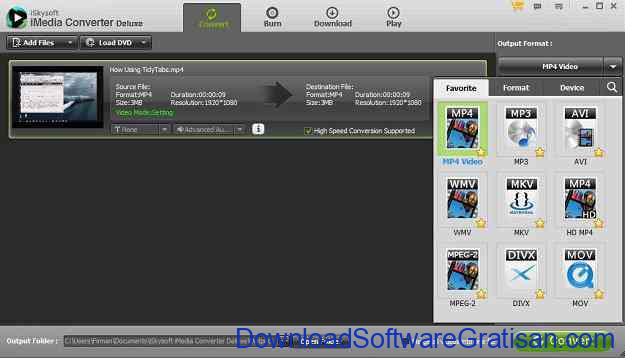 Aplikasi Convert Video & Audio iSkysoft iMedia Converter Deluxe - Convert