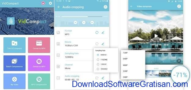 Aplikasi Convert Video ke Mp3 Android Gratis Terbaik - VidCompact