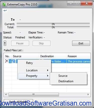 Aplikasi Copy File Gratis ExtremeCopy Standard