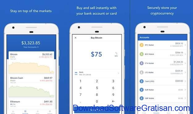 Aplikasi Cryptocurrency Android Terbaik Coinbase