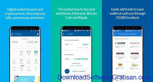 Aplikasi Cryptocurrency Android Terbaik Coins.ph