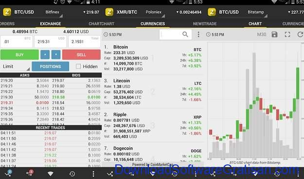 Aplikasi Cryptocurrency Android Terbaik zTrader