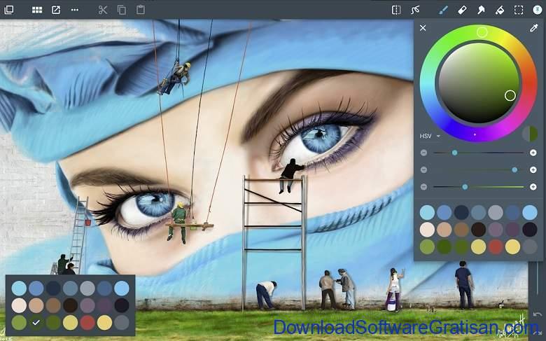 Aplikasi Desain Grafis Android Gratis Terbaik ArtFlow