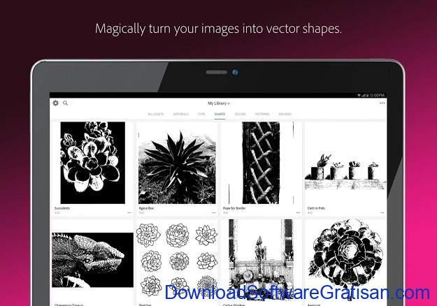Aplikasi Desain Terbaik untuk Android Adobe Capture CC