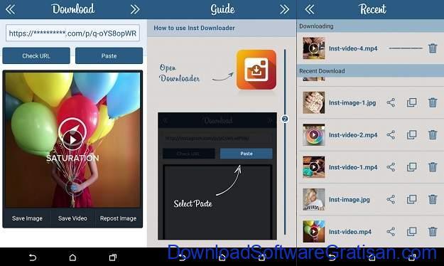 Aplikasi Download Foto & Video Instagram untuk Android - Downloader for Instagram Photo & Video Saver